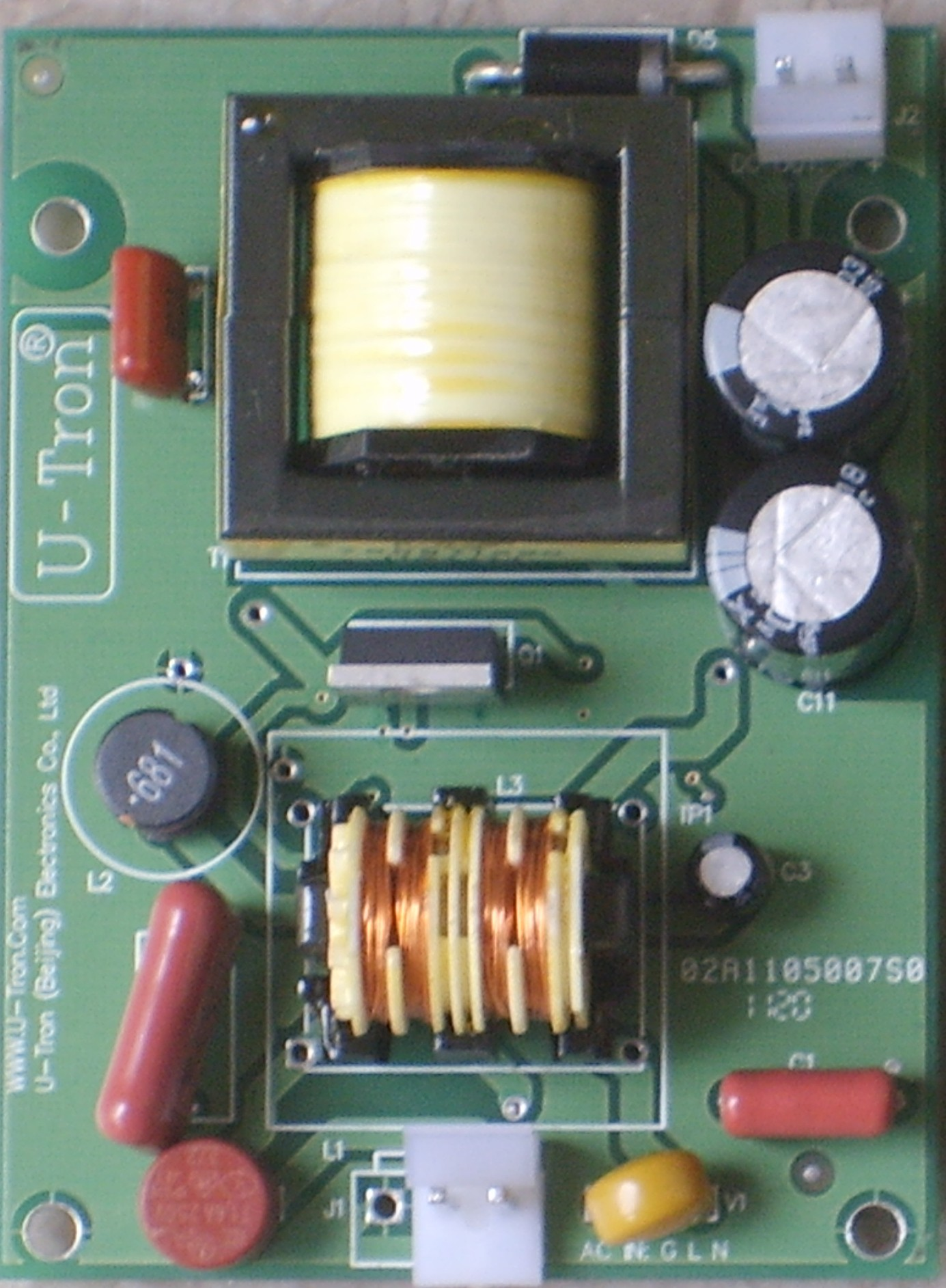50 Watt Dimming Driver For Led Ac Capacitor Circuit U Tron Always Made Its Own Boards And But Sometimes Outsourced The Dc Power Supplies However Available In Market Have